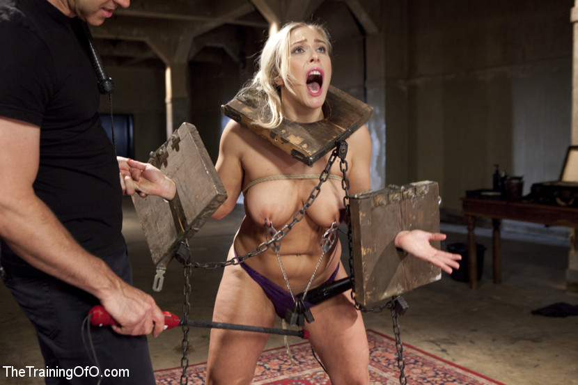 Busty lez alena croft dominated by hot blonde 3