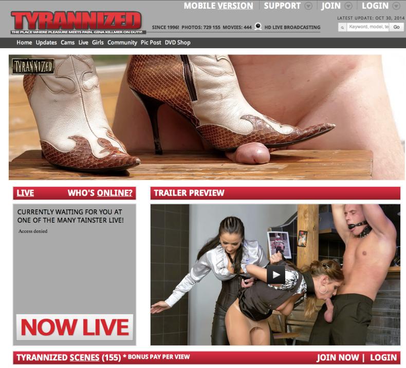 tyrannized.com